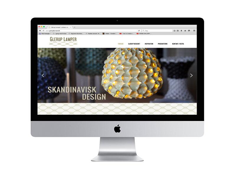 glerup lamper hjemmeside