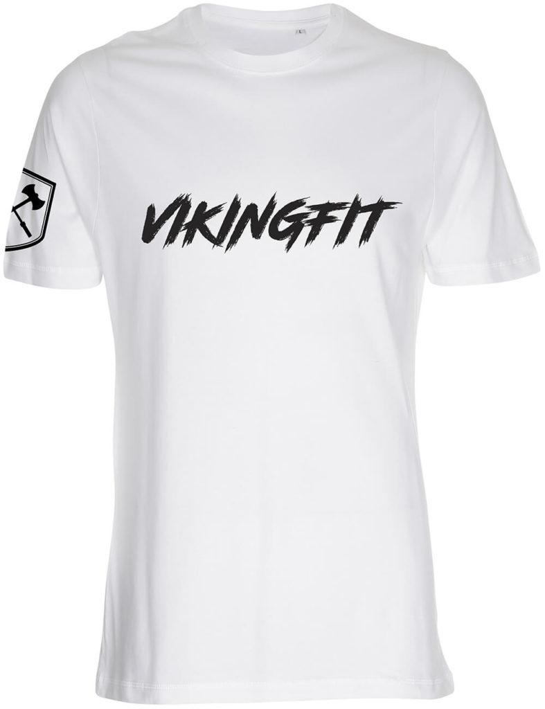 vikingfit hvid t-shirt